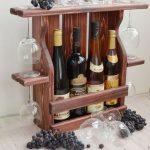 Étagère à vin pour le stockage