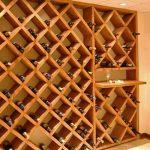 Cave à vin en nid d'abeille