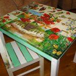 Découper une table de différents fragments