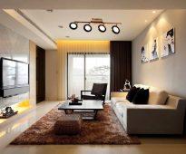Salon dans un style moderne
