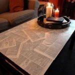 Idées pour transformer l'ancienne table en œuvre d'art