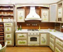 Beaux armoires de cuisine