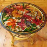 Belle table peinte faites le vous même