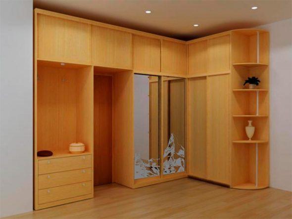 Mobilier intégré pour le couloir