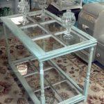Table en verre décoré faites le vous même