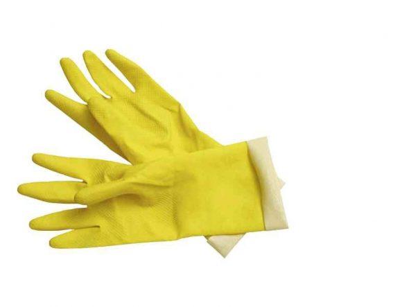 Beschermende rubberen handschoenen