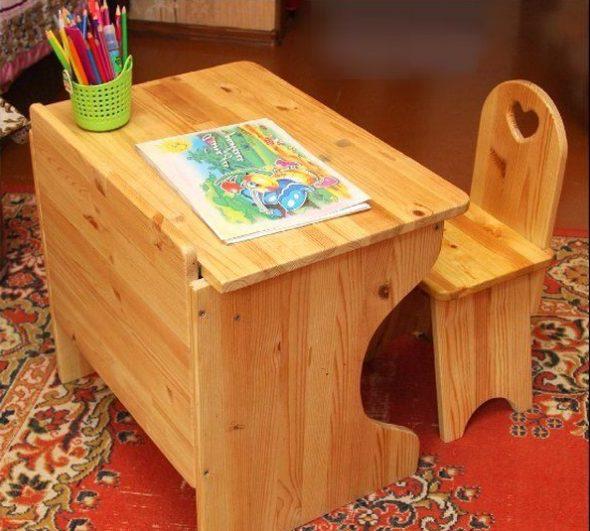 Table et chaise bébé