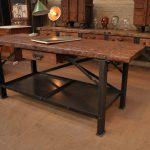 Conception de meubles de cuisine de style loft