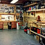 Survol dans le garage