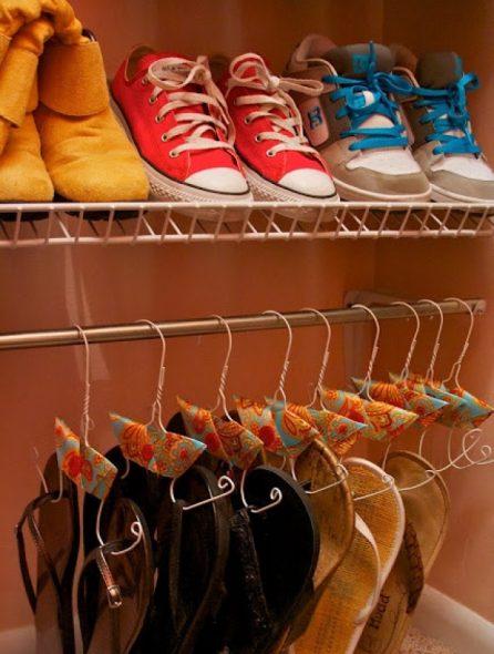 Speciale schoenenhangers