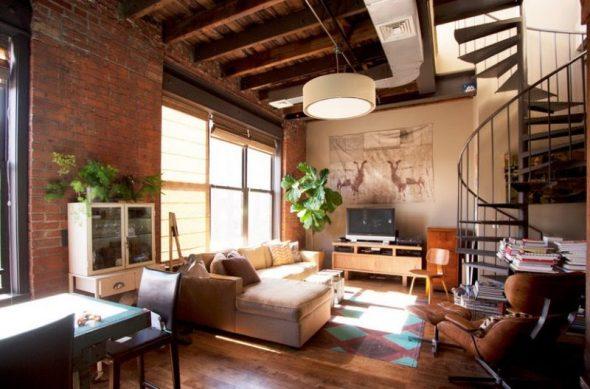 Style loft urbain