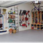 L'idée de l'aménagement du garage