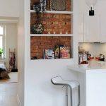 Belles étagères pour la décoration de la cuisine