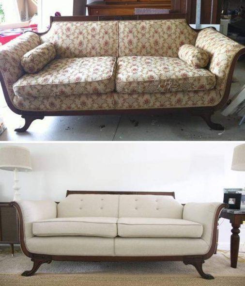 Beau nouveau canapé