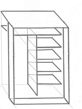 Montage sur panneau supérieur