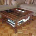 Table Basse Carrée Maison