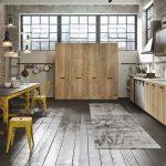 Mobilier de cuisine de style loft