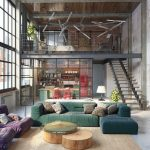 Meubles pour intérieurs dans le style de loft