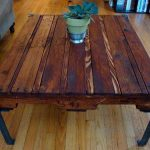 Pieds en métal pour table en bois