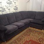 Canapé gris doux après mise à jour