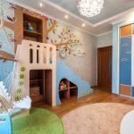 Fauteuil suspendu doux sous la forme d'un hamac pour chambre d'enfant