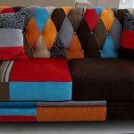 Canapé design patchwork insolite faites-le vous-même