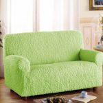 Nouvelle tapisserie d'ameublement vert tendre