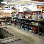 Atelier équipé dans le garage