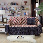La housse d'origine sur le canapé et les oreillers fait-le vous même