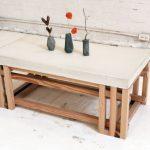 Table basse originale d'un bar