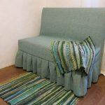 Une excellente option pour une simple couverture sur un vieux canapé.