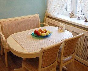 Manque de coins à la table ovale