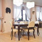 Table ovale pour la cuisine-salle à manger