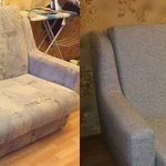 Rembourrage d'un petit canapé à la maison