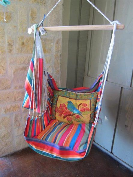 Balançoire chaise suspendue