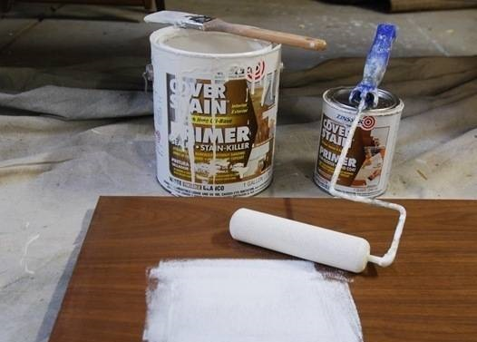 Peinture meubles en bois