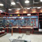 Étagères et supports pour le stockage des outils et des matériaux