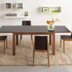 Exemple de table pliante pour la salle à manger