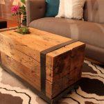 Simple table unique faite maison