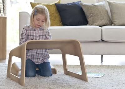 Table ergonomique pour enfants