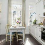 Bureau rectangulaire avec tiroir de style provençal