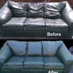 Restauration du canapé à faire soi-même avec des photos avant et après