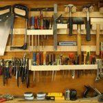 Bouclier fait maison pour outils