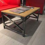 Table faite maison dans le style de beaucoup pour le salon