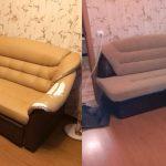 Canapé d'angle auto-rembourré