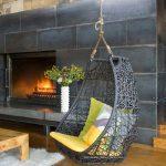 Fauteuil gris style loft