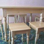 Ensemble de meubles en pin pour la cuisine
