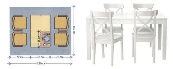 La forme standard est un rectangle.