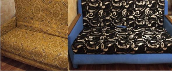 Vieux canapé soviétique