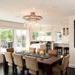 Table rectangulaire pour cuisine de studio